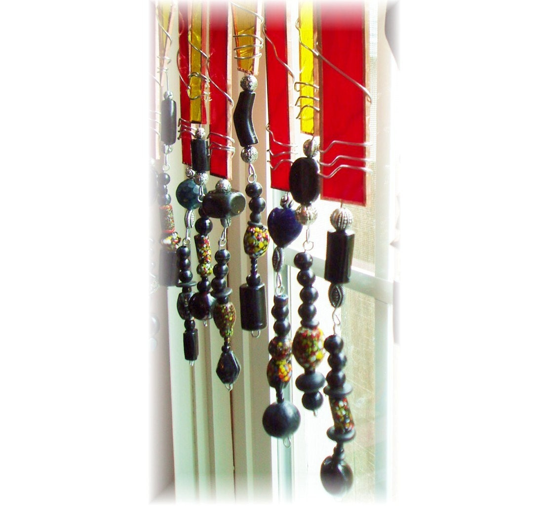 sassy bead inspiration stained glass window treatment window