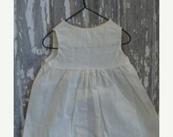 BIG SALE Antique Unused Handmade Pinafore Doll Dress N08