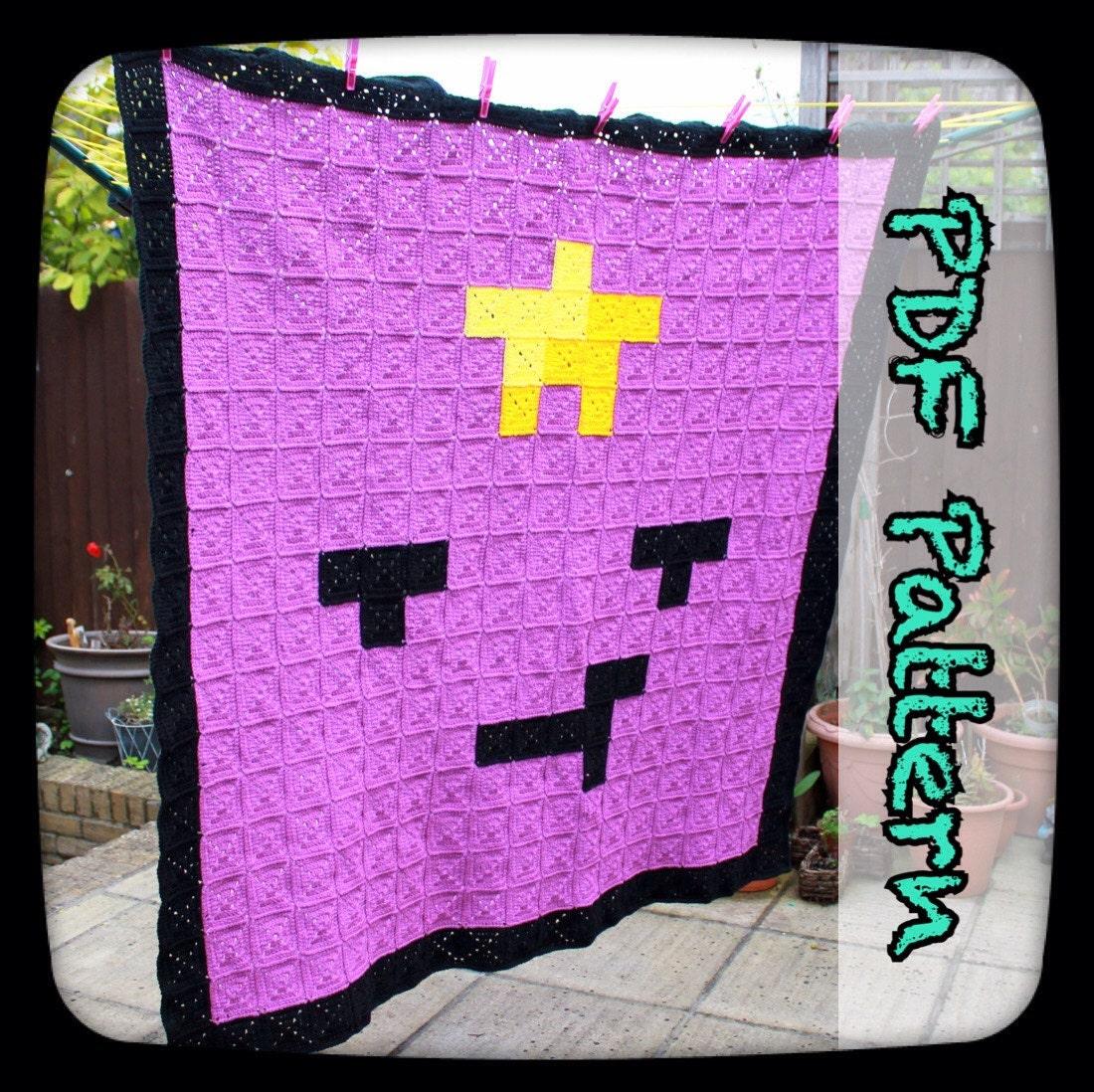Lumpy space princess crochet blanket a pdf crochet pattern this is a digital file bankloansurffo Images