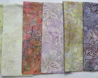 Robert Kaufman Batik Fat Quarter Fabric Bundle