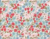 Liberty Fabric Poppy and Daisy A Tana Lawn Half Yard Bright Floral