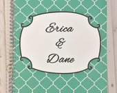 Personalized Wedding Planner, Bridal Planning Book, great engagement gift, bridal, plan, engagement, wedding, planner,
