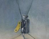 Original oil painting - Cranky