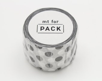 mt for pack - masking tape for packing - pattern - black and white