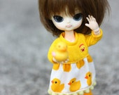Obitsu11cm / pukipuki /Lati white SP /Felix brownie dress