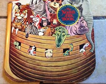 1966 The Noah's Ark Book Golden Shape Children's Book