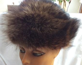Vintage 80 fur hat