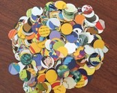 The Beatles Yellow Submarine Recycled Book Paper Circle Confetti - 1000 Count