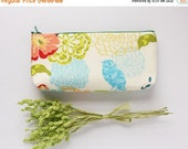 Cosmetic Bag, Pencil Purse, Hummingbirds, Gift For Her