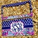 NEW! Monogram License Plate Frame - Lily Pulitzer Inspired - Monogram Car Tag Front License Plate Personalized Plate