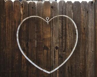 Wine Barrel Band Heart