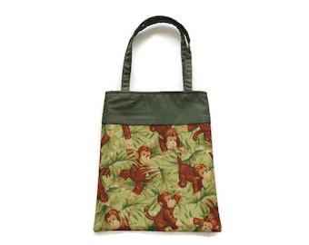 Monkey Gift Bag - Goodie Bag - Mini Tote