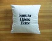 custom reindeer pillow cover for Martine