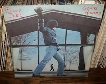 Billy Joel Glass Houses Vintage Vinyl Record