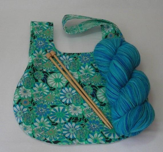 Amy Butler Knitting Bag Pattern : Knitting Project Bag - Japanese Knot bag - Crochet ...