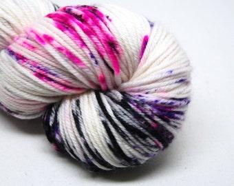 """Dubstep DK Yarn - """"Scene Girl"""" - Handpainted Superwash Merino - 231 yards"""