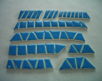 PR - BEAUTIFUL BLUE Tiles - Ceramic Mosaic Tiles