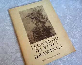 Leonardo Da Vinci Drawings: Quincentenary Exhibition 1452-1952 Royal Academy of Arts London
