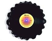 Steely Dan Vinyl Record Tray / Platter Vintage LP Album 1976 (The Royal Scam) Yellow, Orange and Purple Label