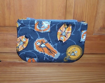Halloween Jack Nightmare Before Christmas Zippered Pouch