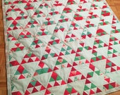Quilt 74 x 60 Triangles