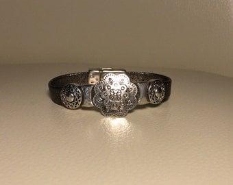 Women's soft nappa leather bracelet