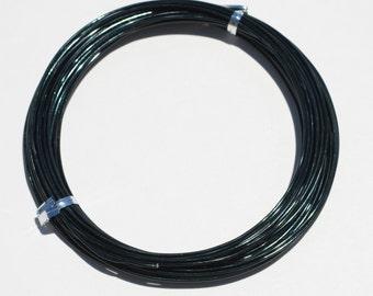 Black Aluminum Craft Wire 10Meters  F449