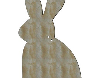 Unfinished Wood 20 inch tall Bunny wood shape