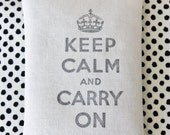 Keep Calm and Carry On Lavender Sachet, Coworker Gift