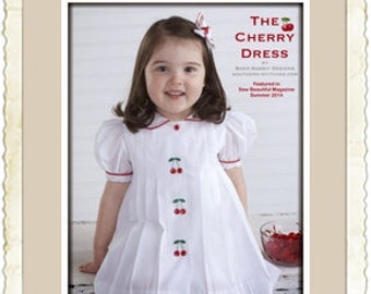 BRD The Cherry Dress ePattern Sizes 5-8