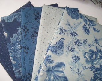 Cold Spell by Laundry Basket for Moda fat quarter set