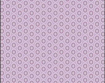 Oval Elements by Art Gallery fabrics Amethyst  1 yard