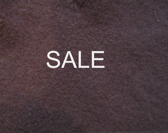 SALE - Supply - Felted Wool Sweater - Chocolate - Recycled Fabric Material