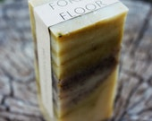 "Natural Soap-Handcrafted.  ""Forest Floor"" Pine, Cedar, & Wintergreen with Exfoliating Coffee. 1 Bar."