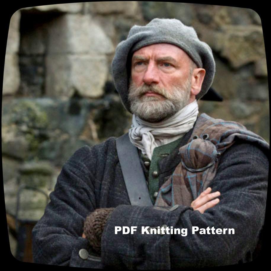 PDF Knitting Pattern Outlander Scottish Highlands Tam