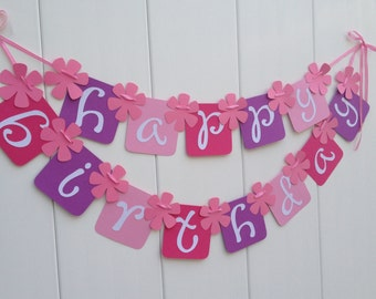 Happy Birthday Banner - Party Banner