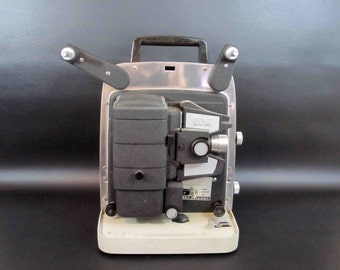 Vintage Bell and Howell Lumina 12 8mm Film Projector. Circa 1960's.