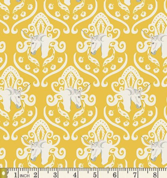 Equus Crest In Shine Fantasia Art Gallery Fabric From