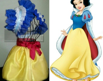 SNOW WHITE Anime Cosplay Collar Bolero Shrug  Burlesque apron skirt  Disney princess  Frenchmaid Ball dance