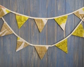 Designer Bunting. Orla Kiely Bunting. This is a gorgeous 3m strand made from Orla Kiely fabric.