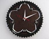 Recycled FSA Bicycle Chainring Wall Clock