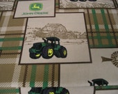 Licensed John Deere cotton fabric for sewing