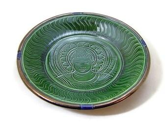 BUDDHA Offering Bowl Handmade Pottery