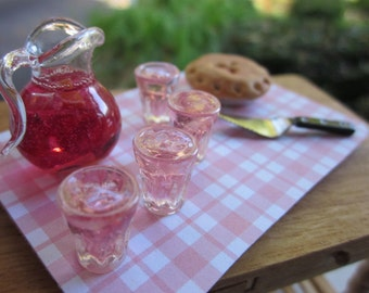 Fruit Punch and Pie Tray