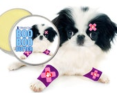 Japanese Chin Boo Boo Butter Handcrafted ALL NATURAL Balm for your Little Dog's Discomforts 1 oz Tin Japanese Chin Ouch Label in Gift Bag