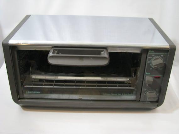vintage black decker toaster oven spacemaker space saver