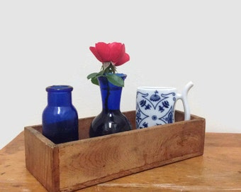 Vintage Wooden Drawer - Rustic Storage Decor