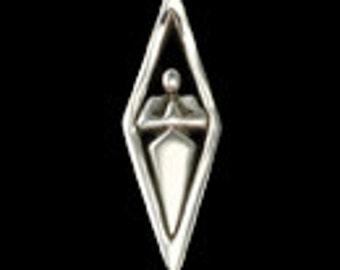Namaste Pendant, Yoga & Meditation Symbolic Jewelry