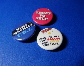The Parks Department Pinback Button Set (or Magnets)