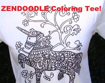 Coloring t shirt | Etsy
